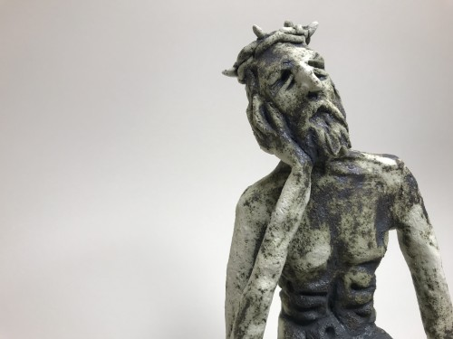 THE PENSIVE CHRIST